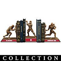 Alabama Crimson Tide Football Legacy Bookends Collection