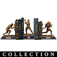 Auburn Tigers Football Legacy Bookends Collection