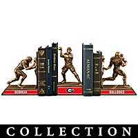 Georgia Bulldogs Football Legacy Bookends Collection