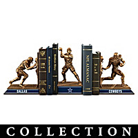 Dallas Cowboys Legacy Bookends Collection