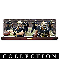 New Orleans Saints Collector Plate Collection