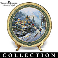 Thomas Kinkade Cherished Memories Collector Plate Collection