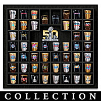 Super Bowl 50 Shot Glass Collection