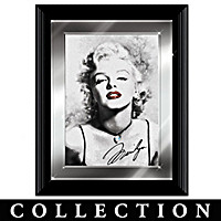 Marilyn Monroe Crystal Glamour Wall Decor
