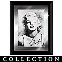 Marilyn Monroe Crystal Glamour Wall Decor