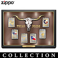 The Great State Of Texas Zippo Lighter Collection