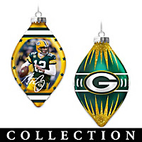 Packers Heirloom Glass Ornament Collection