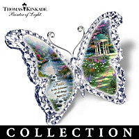 Thomas Kinkade Gardens Of Paradise Sculpture Collection