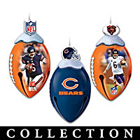Chicago Bears FootBells Ornament Collection