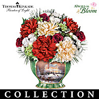 Thomas Kinkade Seasons To Celebrate Centerpiece Collection