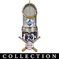 Kansas City Royals World Series Ornament Collection