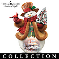 Thomas Kinkade Winter Warmth Figurine Collection