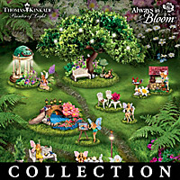 Thomas Kinkade Tiny Garden Treasures Figurine Collection