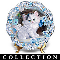 Purr-fect Jewels Collector Plate Collection