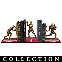 Oklahoma Sooners Football Legacy Bookends Collection