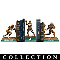 Michigan State Spartans Football Legacy Bookends Collection