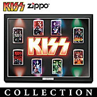KISS Light Up The Stage Zippo Lighter Collection