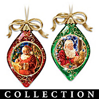 Santa's Magical Spirit Ornament Collection