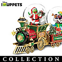 Disney The Muppets Holiday Express Snowglobe Collection