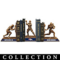 Denver Broncos Super Bowl 50 Bookends Collection