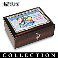 PEANUTS Christmas Heirloom Music Box Collection