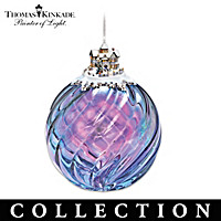 Thomas Kinkade Colors Of The Season Ornament Collection