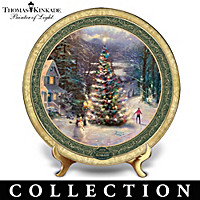 Cherished Christmas Memories Plate Collection