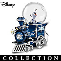 Disney The Adventure Continues Snowglobe Collection
