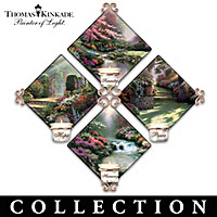 Thomas Kinkade Garden Illuminations Wall Decor Collection
