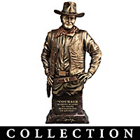 The Legendary John Wayne Sculpture Collection