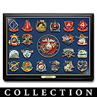 United States Marine Corps Pin Collection