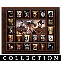 John Wayne Shot Glass Collection