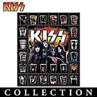 KISS Rock Legends Shot Glass Collection