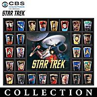 STAR TREK Shot Glass Collection
