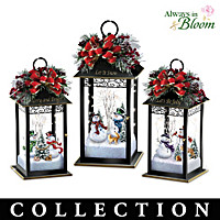 A Merry Winter Welcome Table Centerpiece Collection
