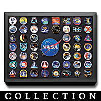 NASA Manned Space Missions Commemorative Pin Collection