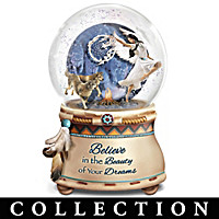 Native American-Inspired Glitter Globe Collection