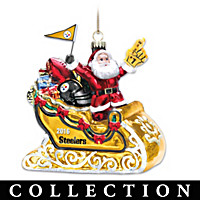 Pittsburgh Steelers Annual Glass Ornament Collection
