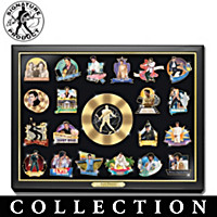 Elvis Presley: Life Of A Legend Pin Collection