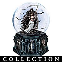 Anne Stokes Dark Beauty Glitter Globe Collection