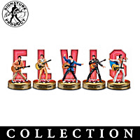 Elvis, The King Of Rock And Roll Figurine Collection