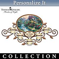 Thomas Kinkade Family Blessings Personalized Wall Decor