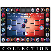 Major League Baseball Season Tracker Wall Decor Collection