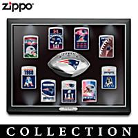 Super Bowl  Champions Patriots Zippo® Lighter Collection