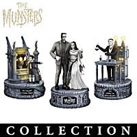 The Munsters Family Figurine Collection