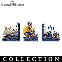 Disney The Nightmare Before Christmas Bookends Collection