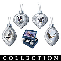 Majestic Flight Ornament Collection