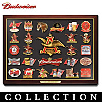 Budweiser The King Of Beer Pin Collection