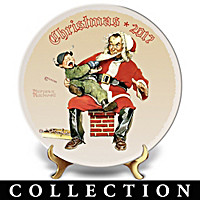 Rockwell Christmas Annual Collector Plate Collection
