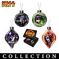 KISS Luminary Glass Ornament Collection